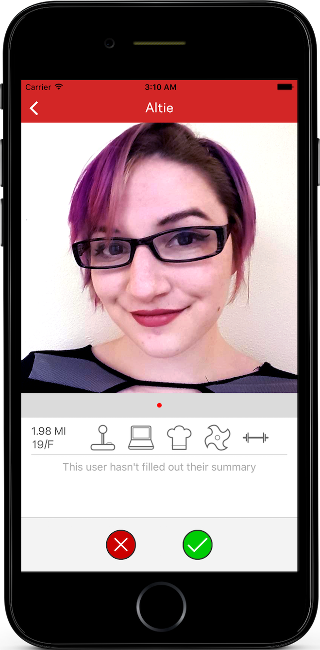 geek dating app Lfgdating is gamer dating and geek dating without the stereotypes we've all been there - you know - creating a profile on one of the big box online dating websites,.
